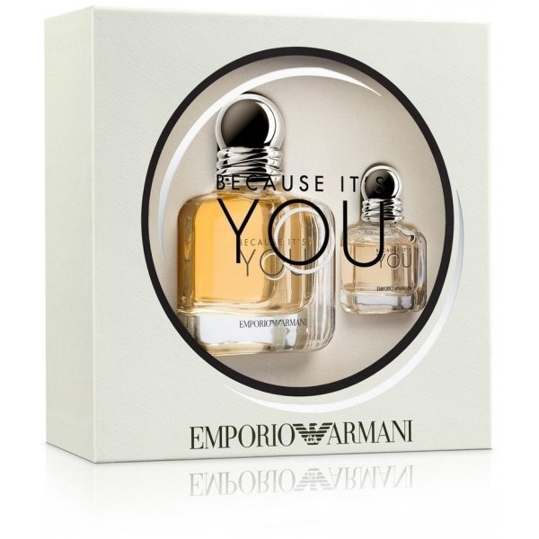 Coffret Emporio Because Its You Eau Deparfum De Giorgio Armani Eau