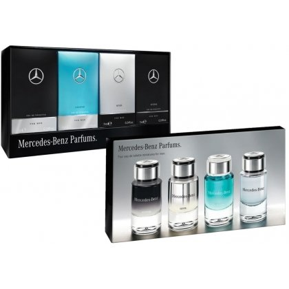 Coffret x 4 miniatures Mercedes-Benz For Men